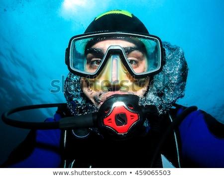 shark with scuba mask Stock photo © adrenalina