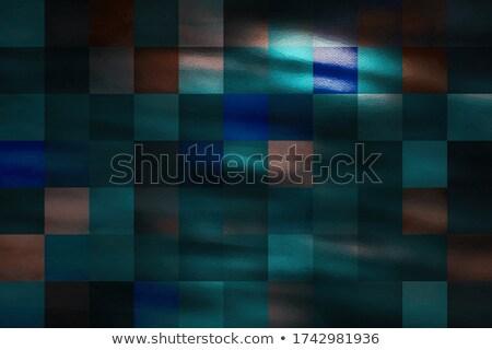 Mozaik minta végtelenített hasonló fal terv Stock fotó © ExpressVectors