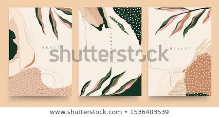Sprzedaży banner talon szablon projektu streszczenie Zdjęcia stock © SArts