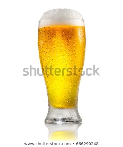 Fresh beer. Stock photo © Fisher