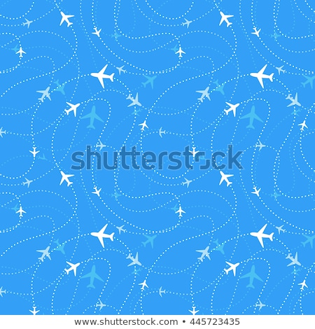 passenger plane with path  Stock photo © ssuaphoto