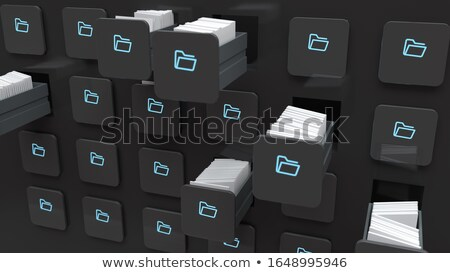 Index Card Programs. 3D. Stock photo © tashatuvango