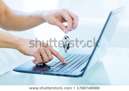vacation closeup of keyboard stock photo © tashatuvango