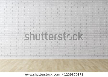 New Ideas on White Brick Wall. Stock photo © tashatuvango