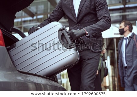 Hotel porteiro luvas viajar europa Foto stock © IS2