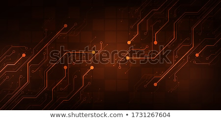 abstract circuit board global network technology background stock photo © sarts