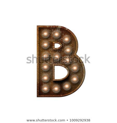 Lettera 3D broadway stile alto qualità Foto d'archivio © creisinger