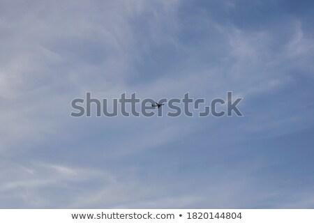 Aereo sopra Lisbona viaggio skyline nube Foto d'archivio © IS2
