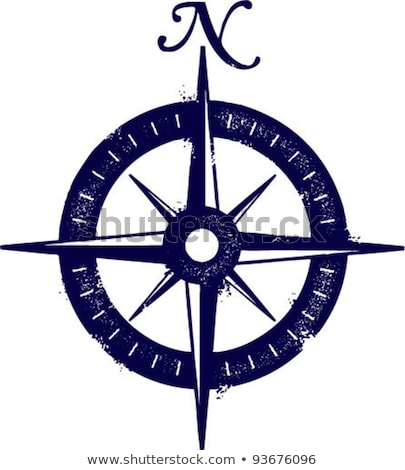 distressed compass rose Stock photo © milsiart