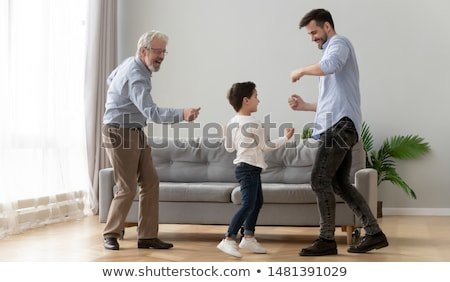Children with different dance move Stock photo © bluering