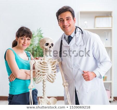 médico · paciente · médico · escritório - foto stock © elnur