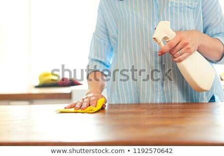 女性 · 洗浄 · オーブン · ホーム · キッチン - ストックフォト © dashapetrenko