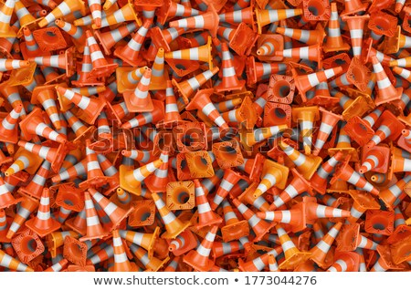 Traffic cones 3D Stock photo © djmilic