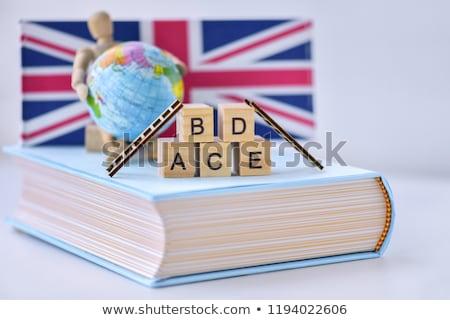 Spell english word globe Stock photo © bluering
