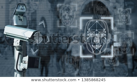 Face Recognition System stock photo © ra2studio