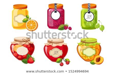 pomarańczowy · plasterka · przezroczysty · gradient · żywności · lata - zdjęcia stock © robuart