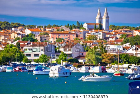 Stockfoto: Town Of Medulin Waterfront View