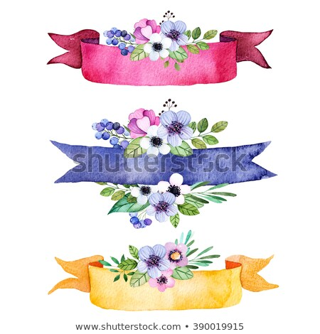 floral banners 3 Stock photo © Olena