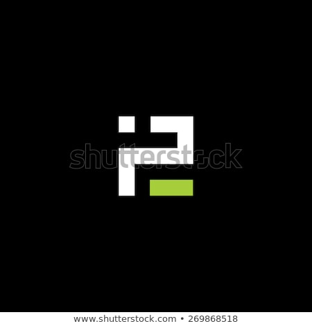 letter p logo p green vector icon design vector Stock photo © blaskorizov