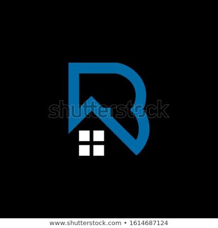 Logotipo verde carta vetor projeto Foto stock © blaskorizov