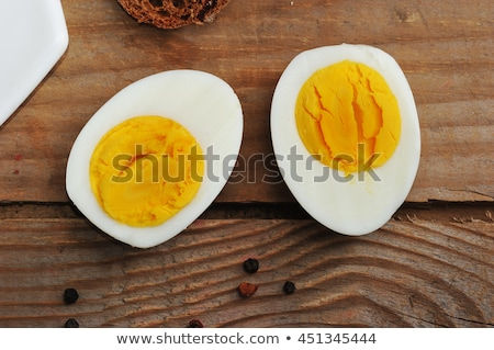 Ovos isolado topo ver acima branco Foto stock © maxsol7