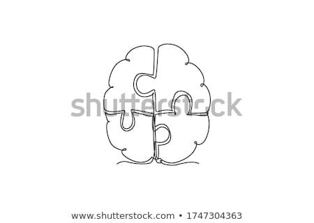 Anatomía mano icono blanco cuerpo salud Foto stock © smoki