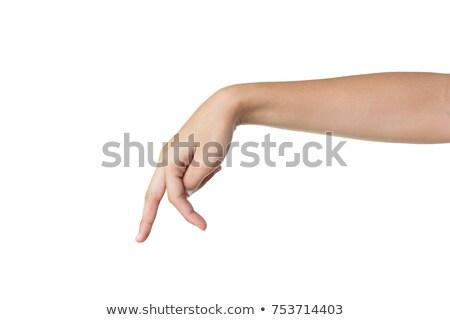 walking fingers concept stock photo © ra2studio