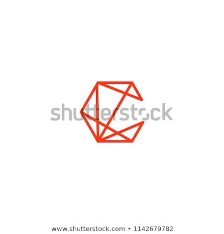 letter c geometric icon vector element design Stock photo © blaskorizov
