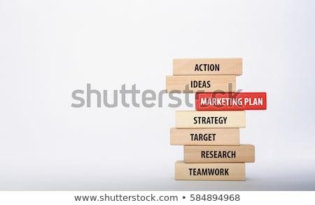 seo optimization and marketing plan promotion stock photo © robuart