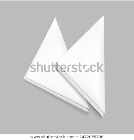 vector set of napkin Stock photo © olllikeballoon