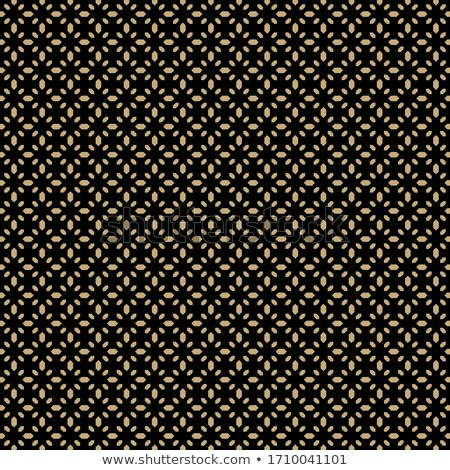 Seamless vector golden texture floral pattern. Luxury repeating damask black background. Premium Stock photo © Iaroslava