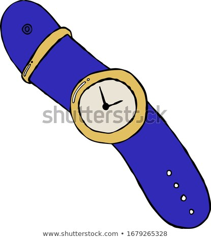 Clock Icon Showing Exact Time Vector Illustration Stock photo © robuart