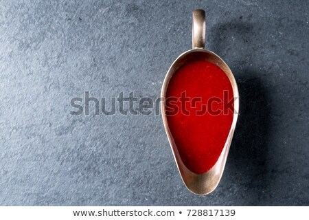 Cranberry sauce in glass gravy boat Stock photo © Alex9500