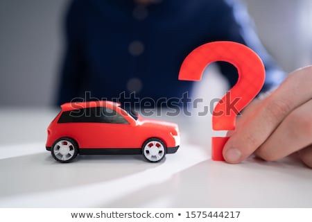 Are You Covered Concept Next To Car Stock photo © AndreyPopov