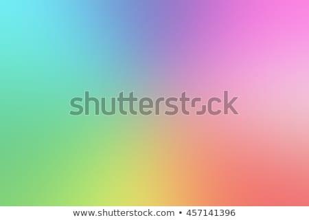 波状の カラフル 虹 デザイン 春 抽象的な ストックフォト © SArts