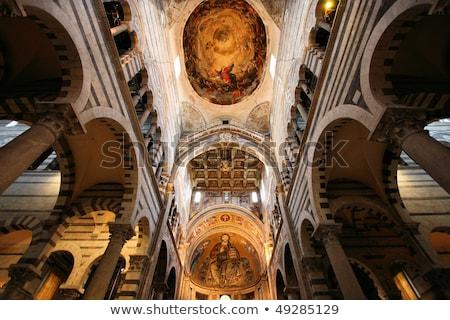 interior of Pisa cathedral, Italy Stock photo © borisb17