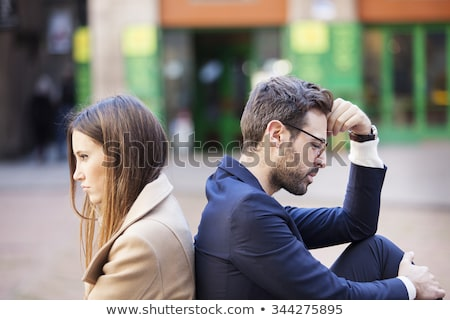 Misunderstanding in young couple relationship Stock photo © pressmaster