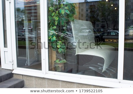 Broken shopfront Stock photo © Anna_Om
