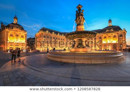 Plaats la Frankrijk gebouw een Stockfoto © borisb17