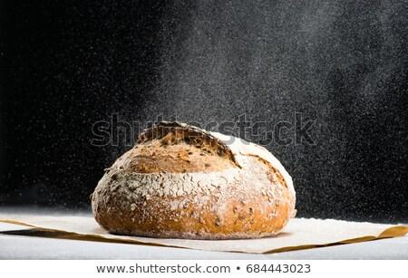 Pão pão rústico velho Foto stock © grafvision