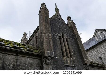 Stock fotó: Templom · Írország · égbolt · építészet · történelem · torony