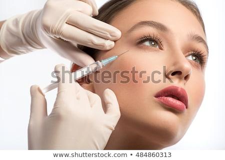 Procedure zuur behandeling rimpels Stockfoto © olira