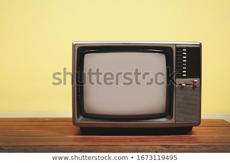 Retro Vintage television Stock photo © stoonn