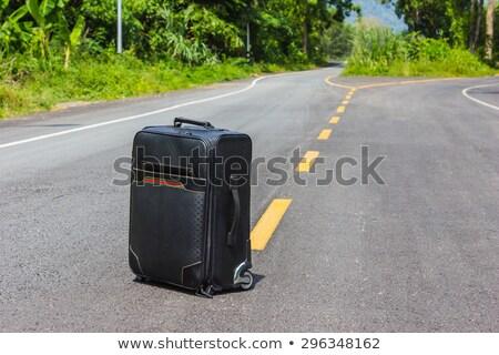 forgotten suitcase stock photo © stocksnapper