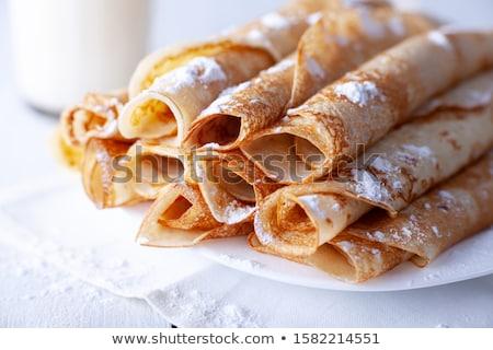 rolled pancakes stock photo © FOKA