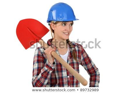 kürek · inşaat · çalışmak · kot - stok fotoğraf © photography33
