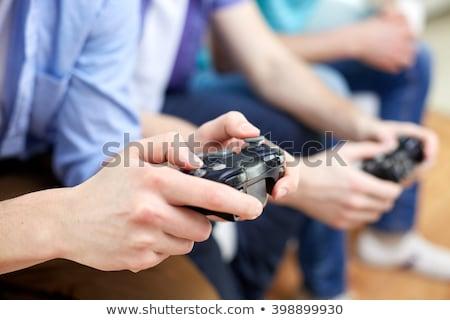 компьютерная · игра · играет · женщины · женщины · играх - Сток-фото © photography33