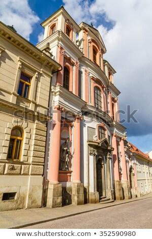 教会 · バロック · 建物 · 旅行 · 日の出 - ストックフォト © phbcz