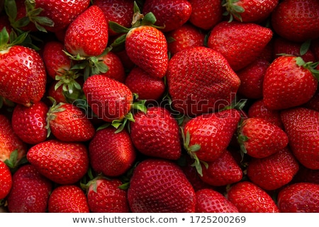 close up of strawberry  stock photo © yoshiyayo