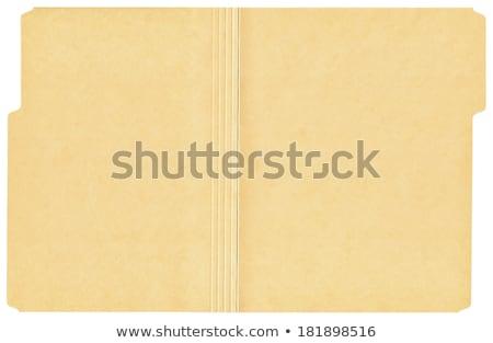 open file folder Stock photo © devon